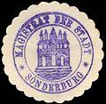 Siegelmarke Magistrat der Stadt - Sonderburg W0229389.jpg