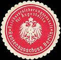 Siegelmarke Reichsversicherungsanstalt für Angestellte - Rentenausschuss Berlin W0255601.jpg