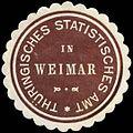 Siegelmarke Thüringisches Statistisches Amt in Weimar W0255980.jpg