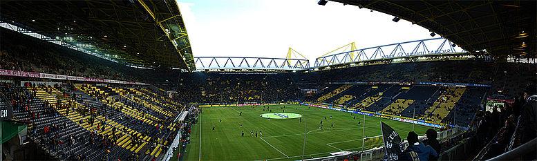 Бавария боруссия стадион