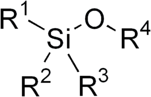 Silyl ether - General structure of a silyl ether