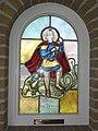 Sint Joost (Echt-Susteren) glasraam St.Joris.JPG