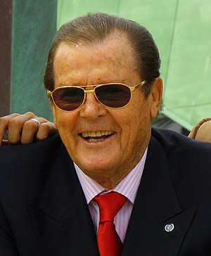 English: Sir Roger Moore KBE