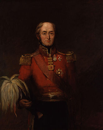 Governors of British Ceylon - Image: Sir Edward Barnes by William Salter