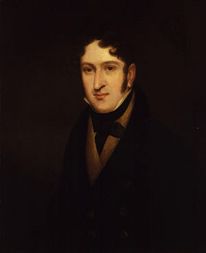 Henry Bishop (composer) - Sir Henry Rowley Bishop, by Isaac Pocock (died 1835)
