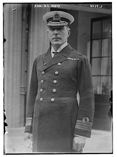 Herbert Heath Second Sea Lord and Chief of Naval Personnel in the Royal Navy