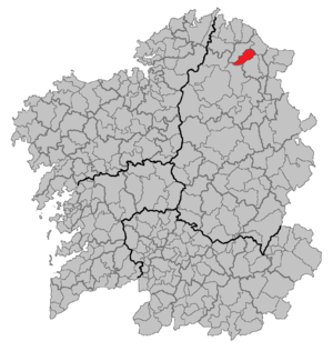 Alfoz - Location of Alfoz
