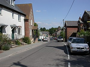 Sixpenny Handley - Image: Sixpenny Handley High Street geograph.org.uk 1934416