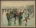 Skating - Hy Sandham ; aquarelle print by L. Prang & Co. LCCN92509204.jpg
