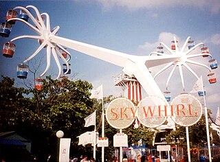 Sky Whirl Defunct amusement ride