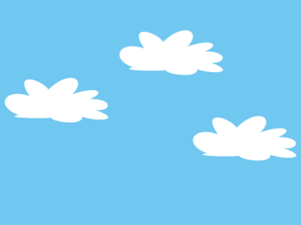 Parallax scrolling - Image: Sky back layer