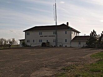 Slope County, North Dakota - Image: Slope County Courthouse
