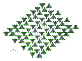 Tin(IV) chloride - Structure of solid SnCl4.