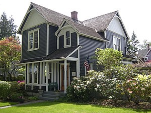 John Frank Stevens - Stevens' home in Snohomish, Washington, built 1887