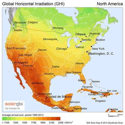 الطاقة الشمسية في كندا ويكيبيديا، الموسوعة الحرة