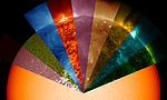 Solar Dynamics Observatory Shows Sun's Rainbow of Wavelengths.jpg