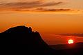 Solnedgang over Narviksfjallen i Nordnorge, Johannes Jansson.jpg
