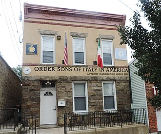 Order Sons of Italy in America - Lodge in Yonkers, New York
