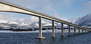 Sortland Bridge bridge in Sortland, Norway