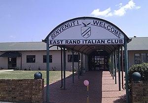 Italian diaspora - Italian Club in Boksburg
