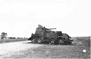 BA-10 - Destroyed BA-10 after Khalkhin Gol