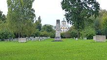 Sowjetischer friedhof im schlosspark belvedere