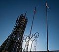 Soyuz TMA-11M erected at Baikonur Cosmodrome (201311050034HQ).jpg
