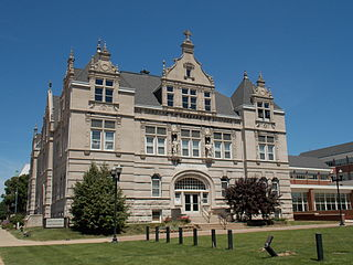 Academy of Our Lady/Spalding Institute former high school in Peoria, Illinois, USA