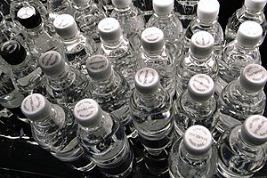 Images of bottled water