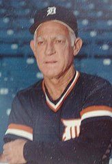 Sparky Anderson jako menadżer Detroit Tigers