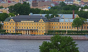 History of Saint Petersburg - Menshikov Palace, the seat of the first Governor