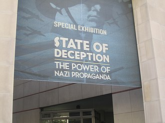 "United States Holocaust Memorial Museum - ""State of Deception"" Nazi propaganda exhibition at the museum in 2011"