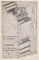 Speculum Romanae Magnificentiae- Entablature from the Forum of Trajan, Rome MET DP870185.jpg