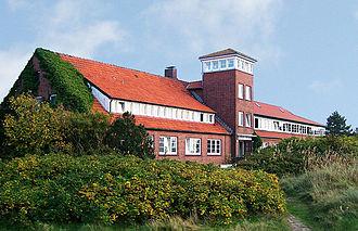 Dietrich Peltz - Hermann Lietz school in Spiekeroog.