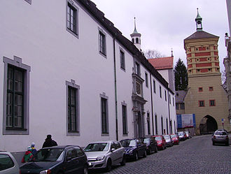Augsburger Puppenkiste - Building at Spitalgasse in Augsburg, Germany