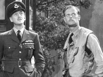 The First of the Few - David Niven and Bunny Currant in The First of the Few