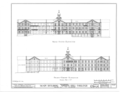 Spring Hill College, Main Building, Old Shell Road, Spring Hill, Mobile County, AL HABS ALA,49-SPRIHI,3B- (sheet 2 of 5).png