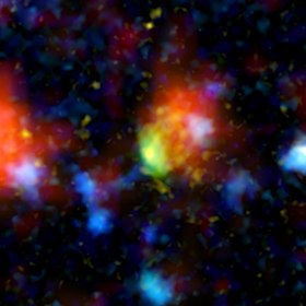 Credits NASA/JPL-Caltech/P. Capak (Spitzer Science Center) Telescopes: Hubble, Spitzer, Chandra, Galex, Keck, CFHT, Subaru, UKIRT, JCMT, VLA, and the IRAM 30m.
