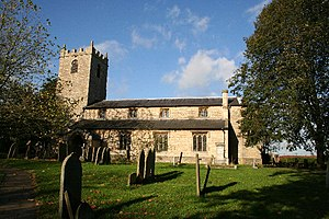 Welton, Lincolnshire - Image: St.Mary's church, Welton, Lincs. geograph.org.uk 76170