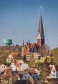 St. Jürgen-Kirche Wasserturm 2015.jpg