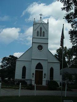 St Paul S Episcopal Church Hanover Virginia Wikipedia
