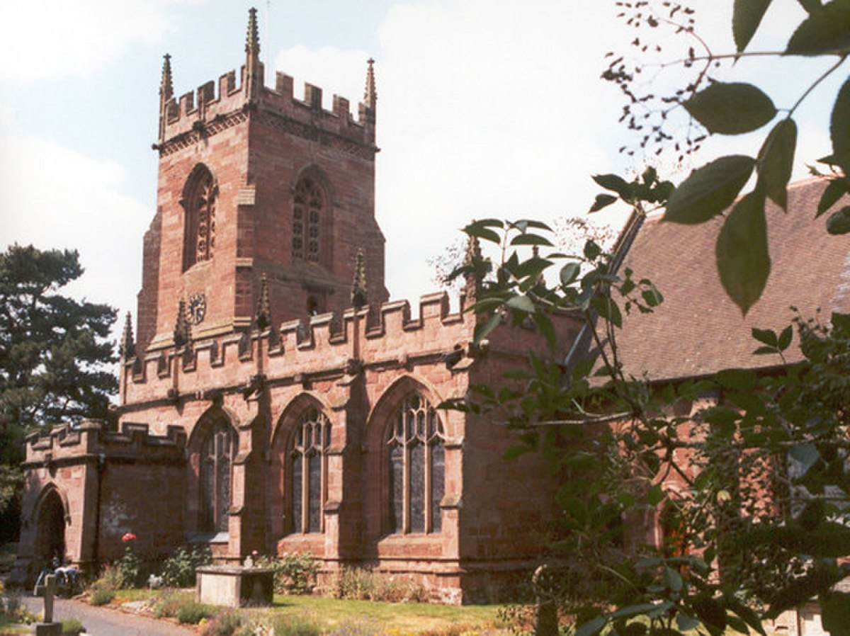 St. Peter's Church, Edgmond, Shropshire - geograph.org.uk - 220047.jpg
