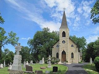 St. James Catholic Church and Cemetery (Lemont, Illinois) United States historic place
