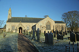 St Cuthberts Church, Elsdon Grade I listed church in the United Kingdom