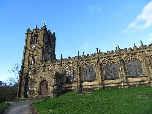 St Mary's Church, Mold (24583584946)