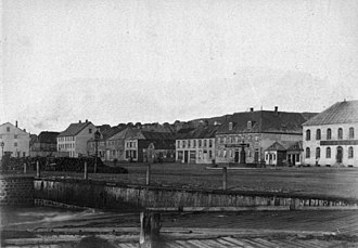 Saint Pierre and Miquelon - St Pierre, Le Quai La Roncière, 1887