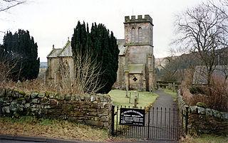 Falstone village in the United Kingdom