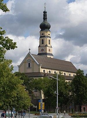 Deggendorf - Image: Stadtpfarrkirche Deggendorf