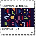 Stamp Germany 2002 MiNr2256 Kindergottesdienst.jpg