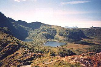 Hol, Nordland - Image: Stamsund Aussicht